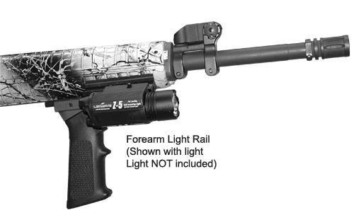 Add-A-Rail System Mount-A-Light