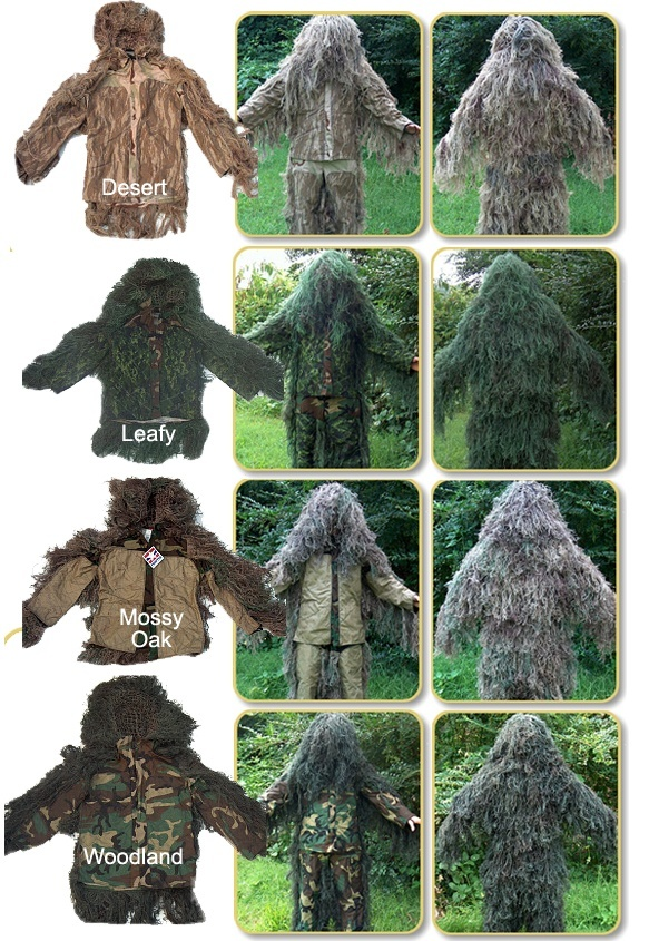 Ghillie Suit Jacket