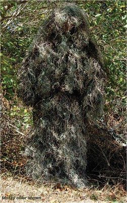 Mossy color Ghillie Suit shown