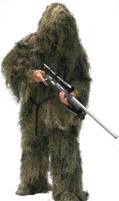 All season color Ghillie Suit shown