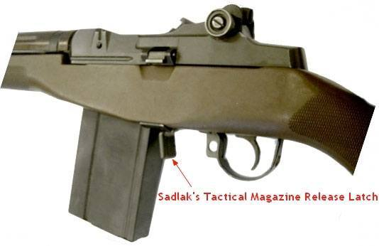 M14 Tactical Magazine Release Latch