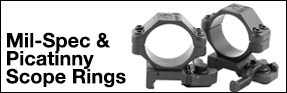 Picatinny/ Mil-Spec Scope Rings