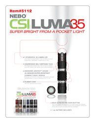 NEBO CSI Luma35 Mini/Pocket Flashlight