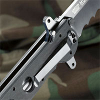 CRKT M16-13SF Special Forces Knife - Tanto Triple-Point Serrations
