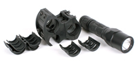 SureFire G2X Tactical Dual-Output LED with Elzetta ZSM Tactical Shotgun Flashlight Mount