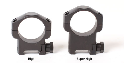 Leupold Mark 4 Tactical Scope Rings - 34mm, Steel