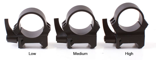 "Leupold QRW Mounting System - 1"" Scope Rings"