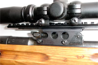 Mosin Nagant 9130 See-Thru Scout Scope Mount