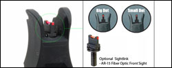 A.R.M.S. #40L Low Profile Flip Flip Up Rear Sight