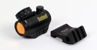 Bushnell Trophy 1 x 25mm 3 MOA. Red Dot Sight with Tactical Offset Rail Adaptor