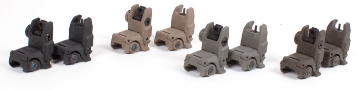 Magpul MBUS Sight Set (Front & Rear) - GEN 2