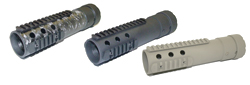 PRI GEN III AR-15 Free Float Intermediat Length Forearm - Carbon Fiber Upper