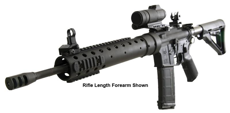 pri gen iii ar 15 free float carbine forearm carbon fiber upper