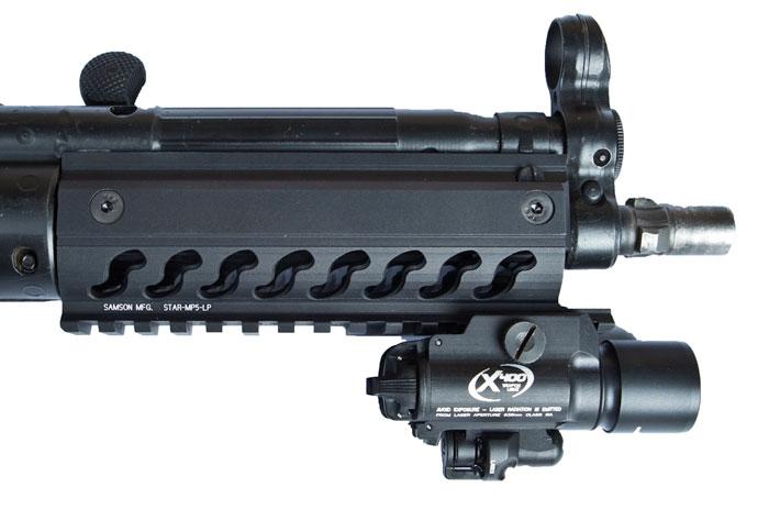 Samson STAR HK MP5 LP Handguard Rail - low profile