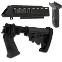 Tapco Intrafuse Saiga T6 Stock & Handguard with Vertical Grip