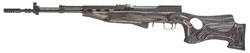 TimberSmith SKS Thumbhole Stock- Right Handed Model, Black Laminate
