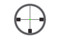 Amber Triangle Reticle 2