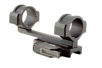 Trijicon AccuPoint 30mm Quick Release Flattop Mount with BAC, Amber Triangle Reticle 2