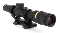 Trijicon AccuPoint TR24: 1-4x24 30mm Riflescope with BAC,  Triangle Reticle