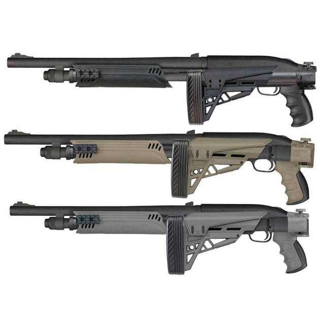 ATI Strikeforce Side-Folding Shotgun Stock for Mossberg, Remington,  Winchester & More - 12-Gauge
