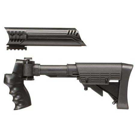 ATI Six Position Side Folding Tactical Shotgun Stock & Forend: MSP ...