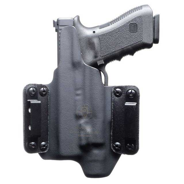 Blackpoint Tactical Leather Wing Light Mounted Holster For Glock 19/23 W/  Surefire XC1   Right