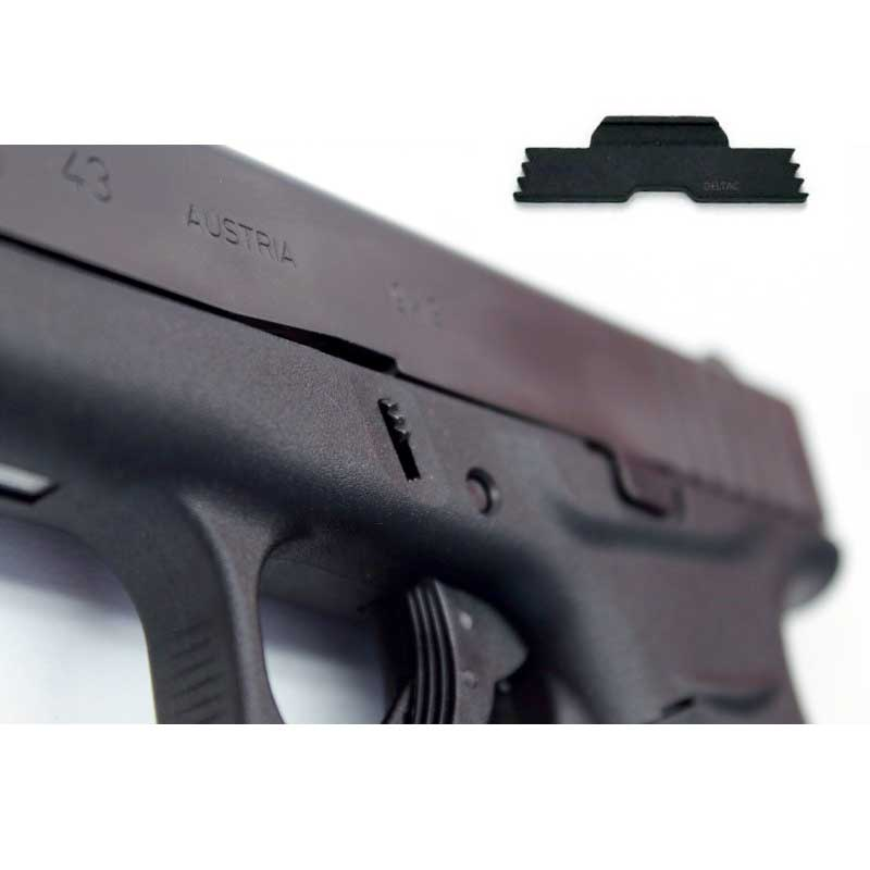 Deltac Extended Slide Lock Lever For Glock 43