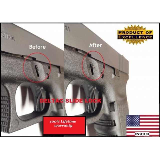 Deltac Glock Extended Slide Lock (Gen 1-4)