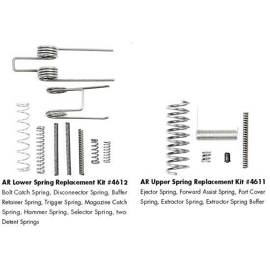 Ergo Ar 15 Upper Lower Spring Replacement Kit