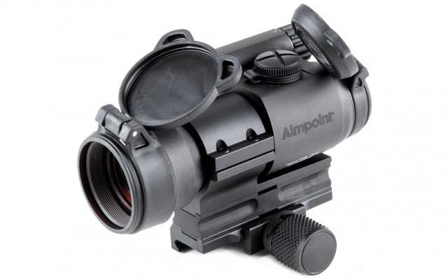 msp lower 1 3 co witness spacer for the aimpoint pro qrp2 or qrw2