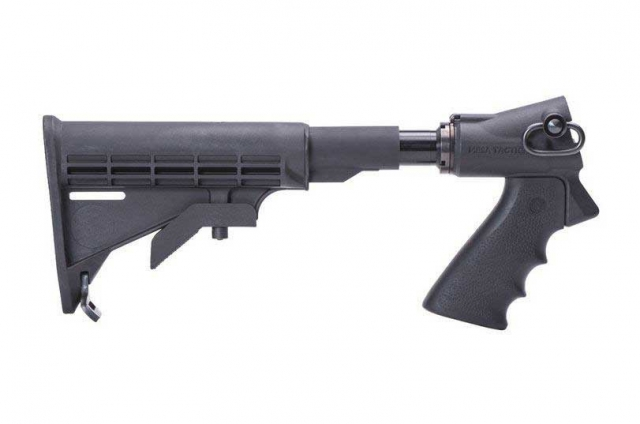 Mesa Tactical LEO Telescoping Hydraulic Recoil Stock Kit for Remington 870  (12-GA and 20-GA)