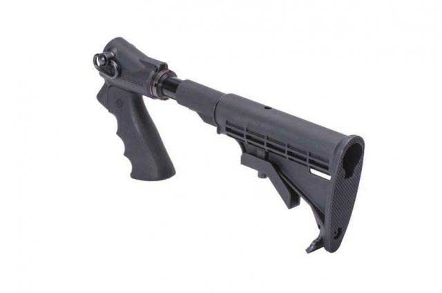 Mesa Tactical LEO Telescoping Hydraulic Recoil Stock Kit for Remington 870  (12-GA and 20-GA)