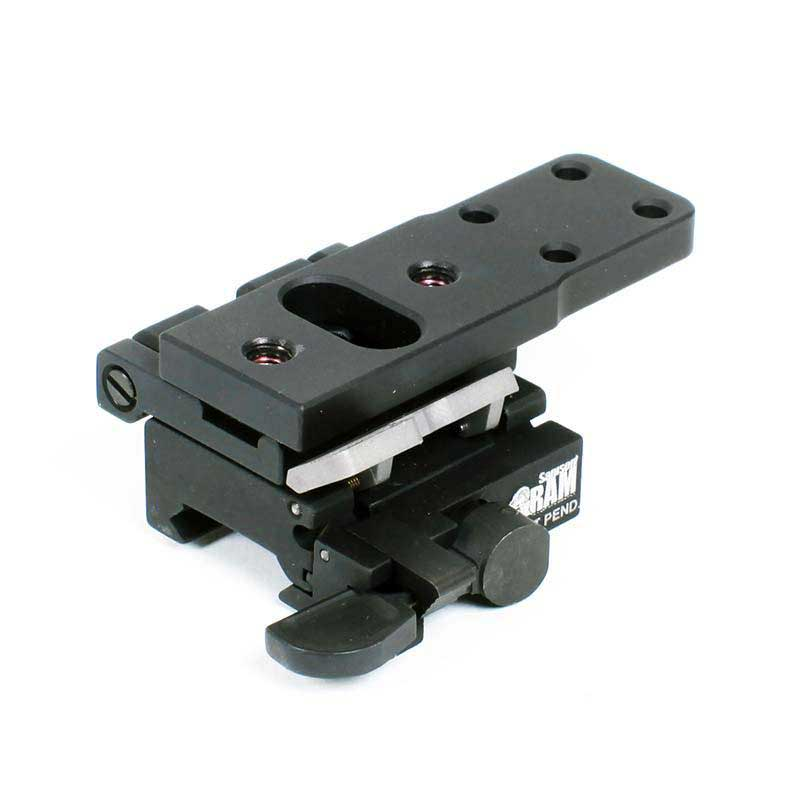 Side mount for aimpoint 3xmag samson qr base with flip to side mount