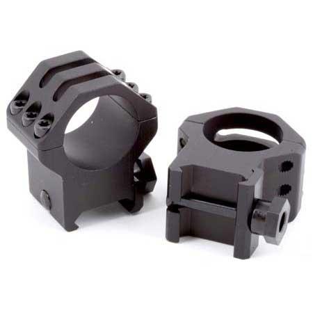 Weaver Tactical 1 Quot Rings 6 Hole Caps