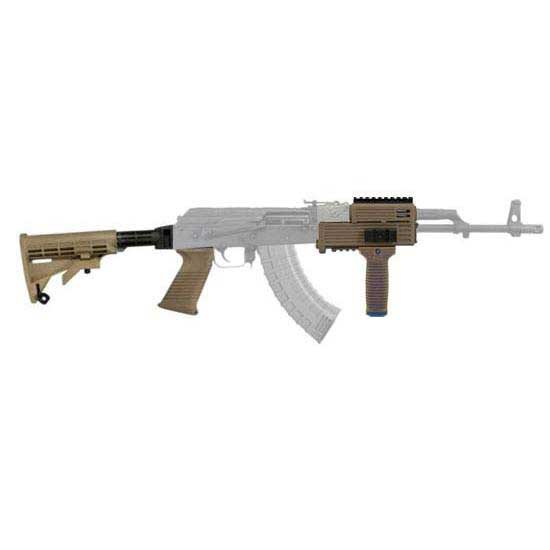 Tapco AK-47 T6 Collapsible Stock Kit with Quad Rail & Vertical Grip  (Stamped Receiver)