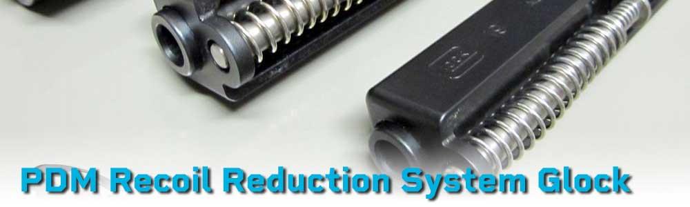 DPM Recoil Reduction System /& Glass Breaker For GLOCK GEN 4 17-22-31